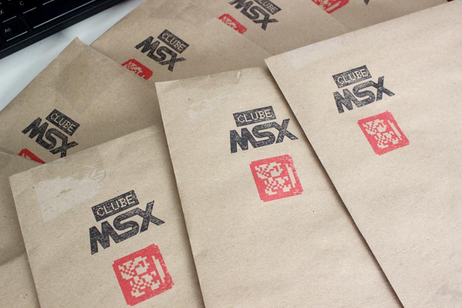 E começam os envios da primeira edição da Clube MSX! | REVISTA CLUBE MSX