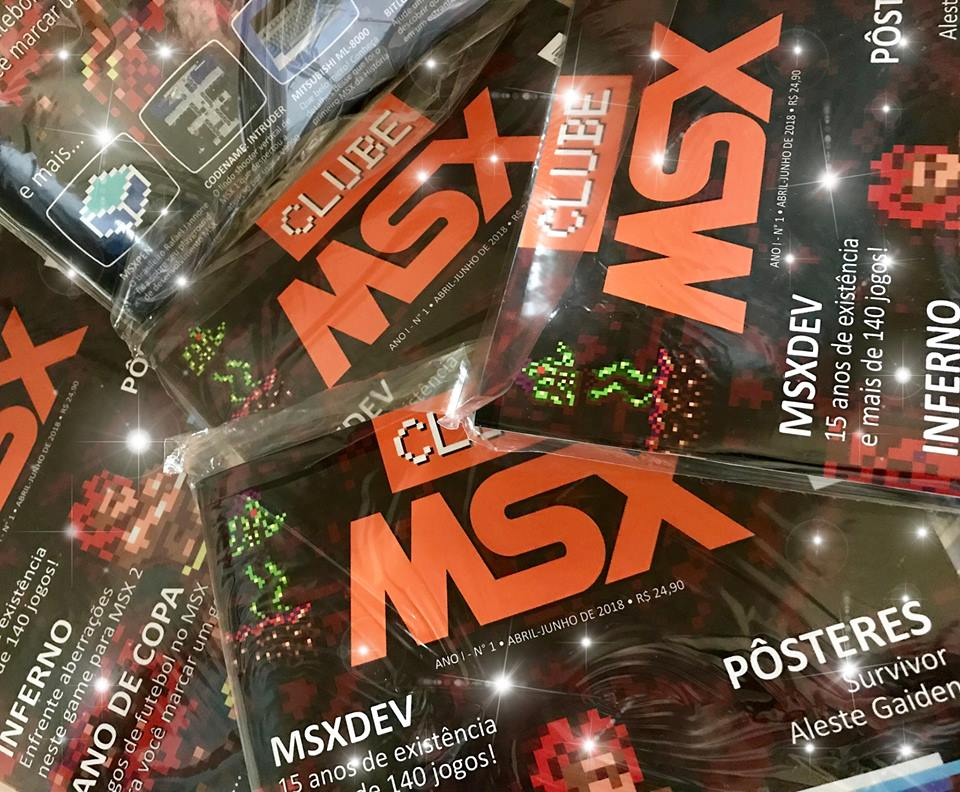 Clube MSX na feira RetroCambuci | Revista Clube MSX