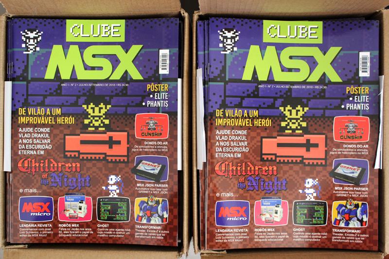 A Clube MSX #2 nasceu e está linda! | Revista Clube MSX