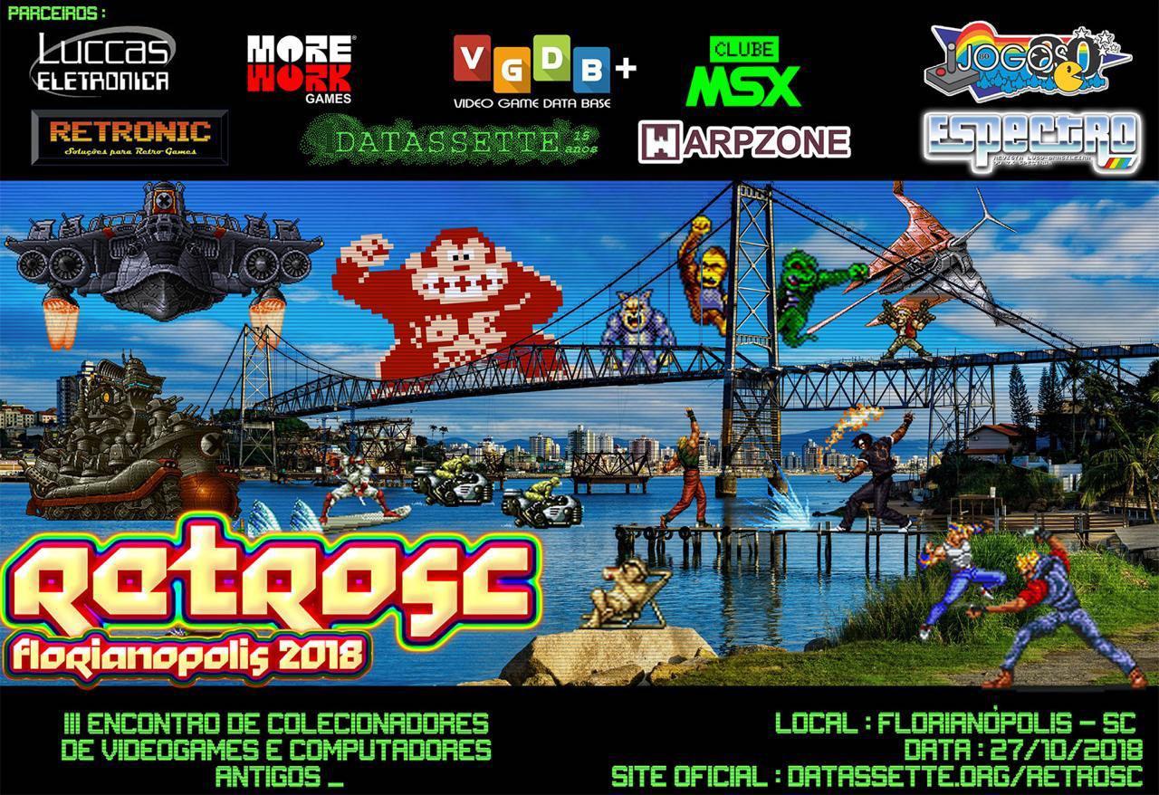 Clube MSX na RetroSC 2018 | Revista Clube MSX