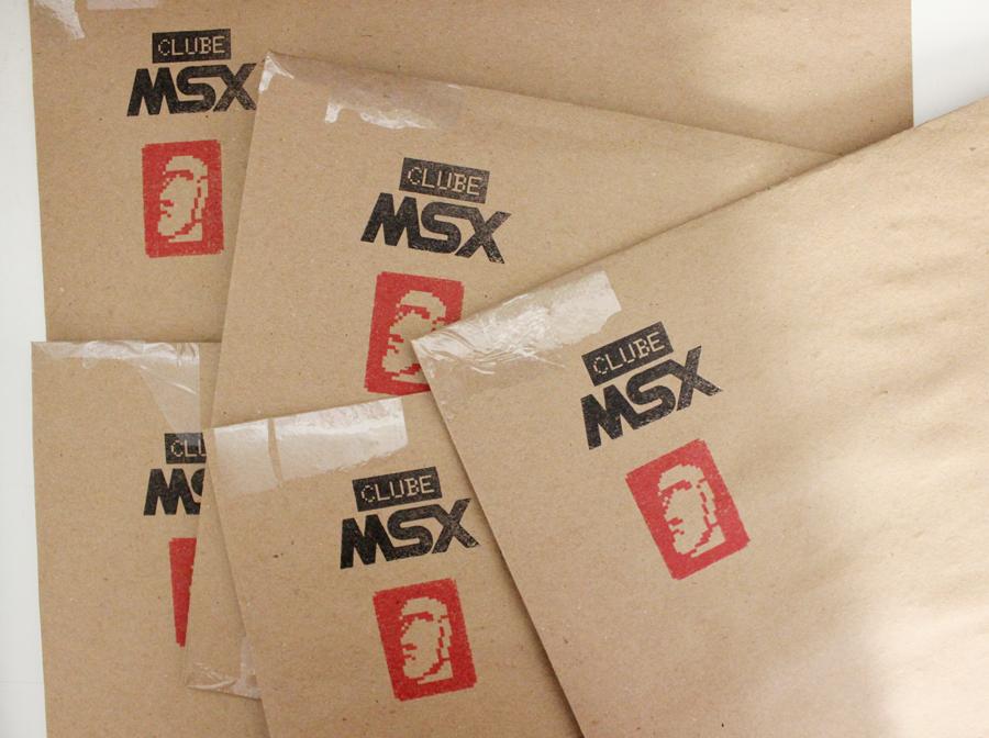 Envios da Clube MSX #3 | Revista Clube MSX