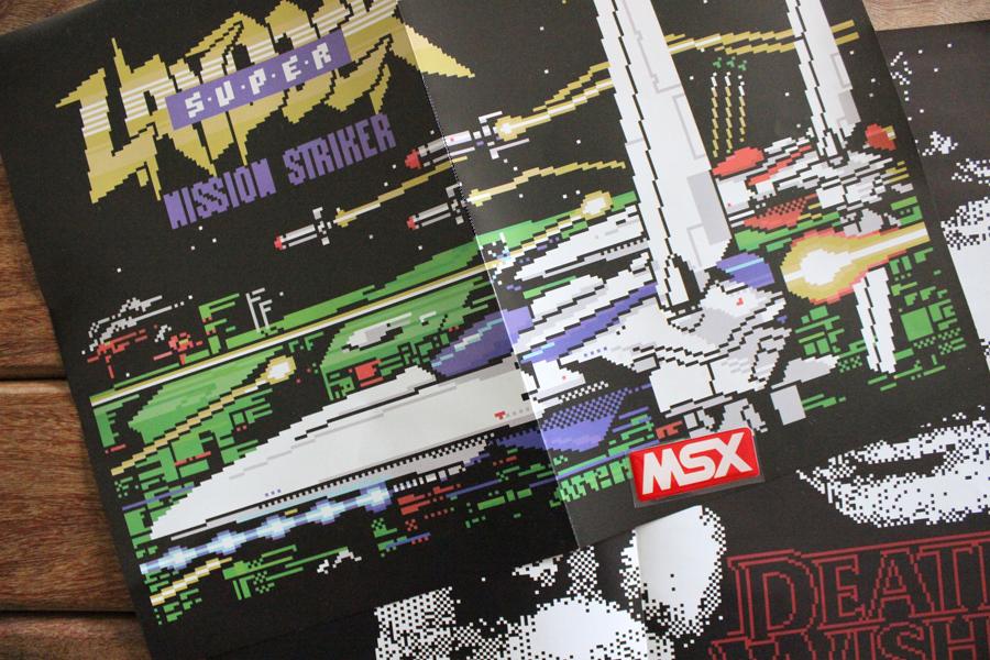 Brindes da revista Clube MSX #4 | Revista Clube MSX