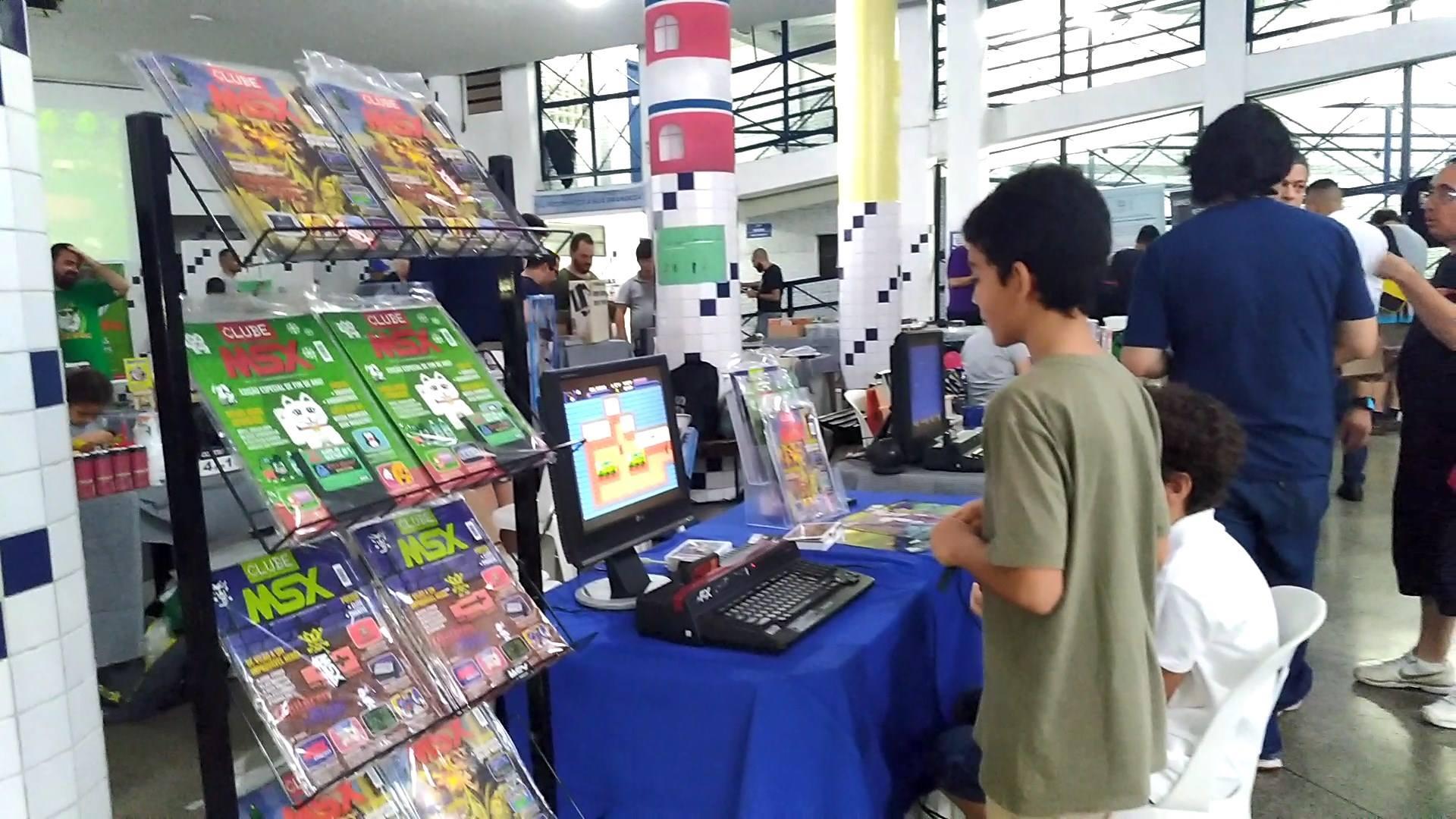 Revista Clube MSX no 5º Festival do Videogame | Revista Clube MSX