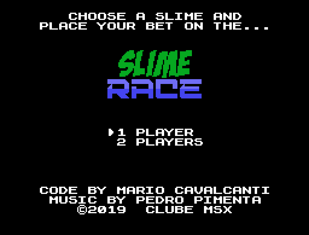 Slime Race | Revista Clube MSX