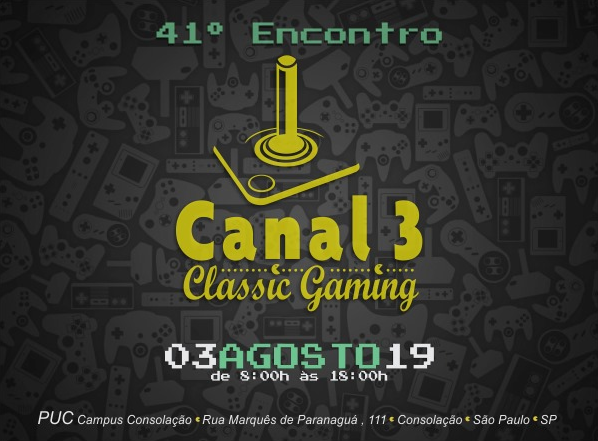 Clube MSX no 41º Encontro do Canal-3 SP | Revista Clube MSX