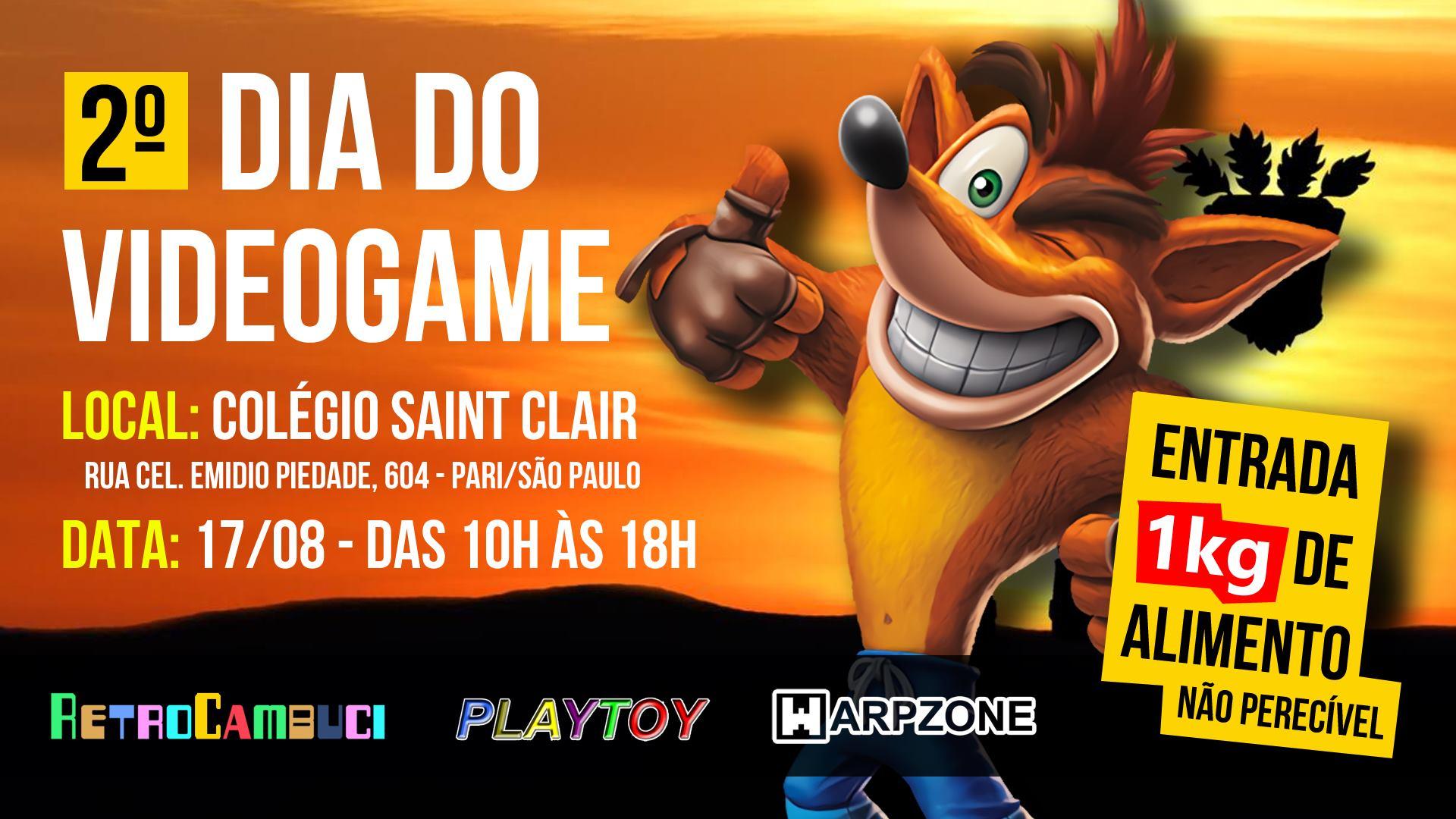 2º Dia do Videogame | REVISTA CLUBE MSX
