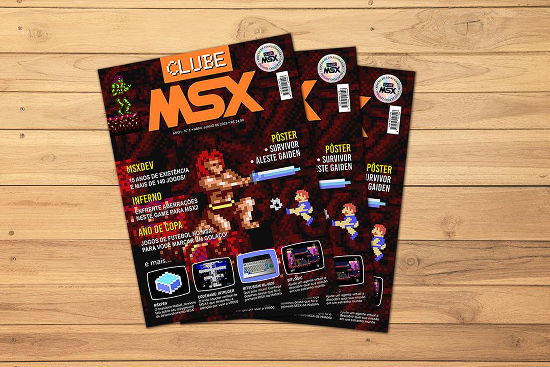 Campanha de financiamento coletivo para reedição da Clube MSX #1 | REVISTA CLUBE MSX