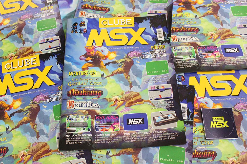 Revista Clube MSX #6 | REVISTA CLUBE MSX