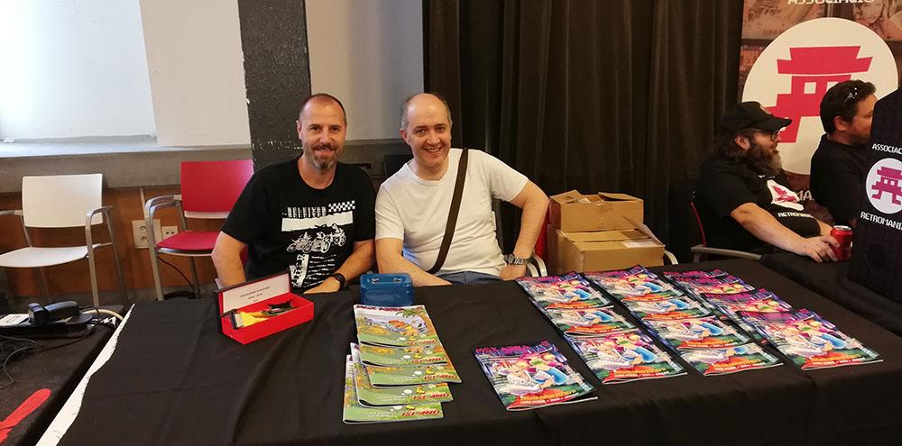 Fotos da 55ª RU MSX de Barcelona (2019) | REVISTA CLUBE MSX | Crédito: TroMax