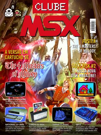 Capa da revista Clube MSX #7 - Revista Clube MSX