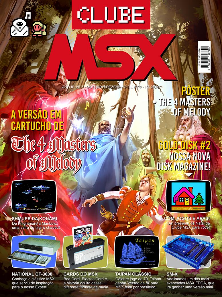 Capa da edição nº 7 da revista Clube MSX
