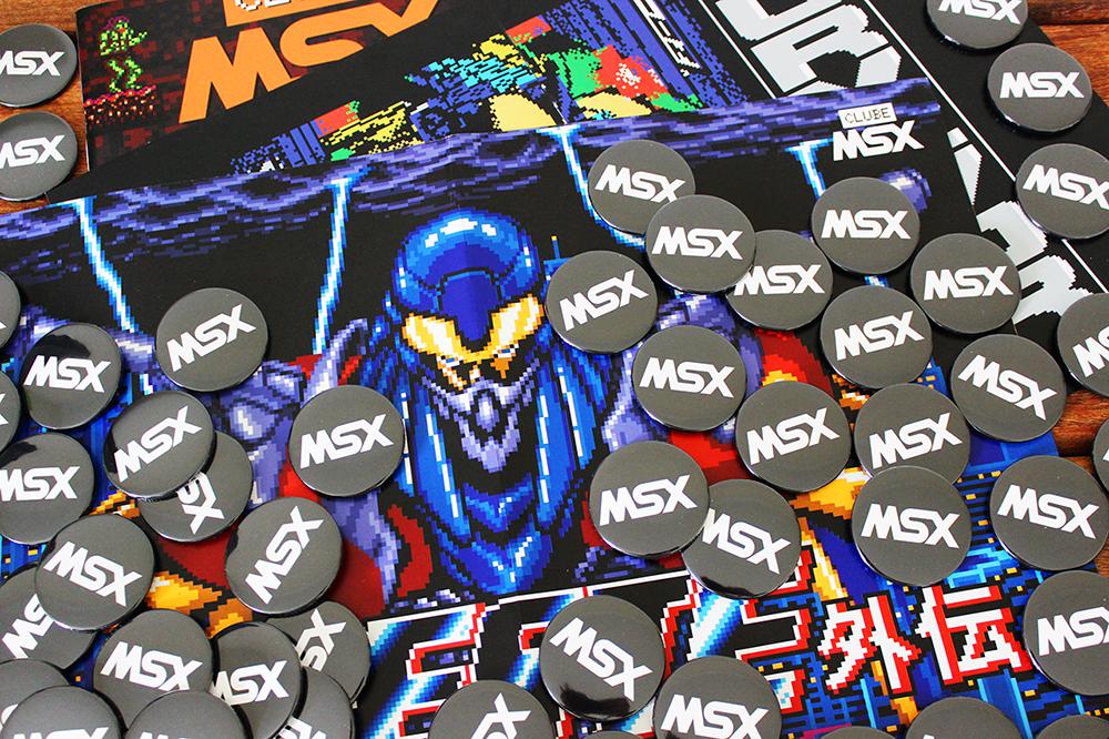 Brindes da Clube MSX #1 – Edição de Colecionador | REVISTA CLUBE MSX