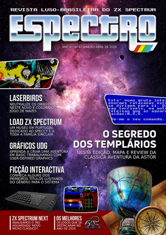 Capa da revista Espectro #4
