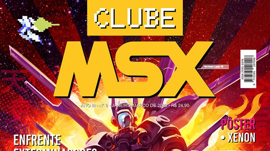 Clube MSX #8 | Revista Clube MSX