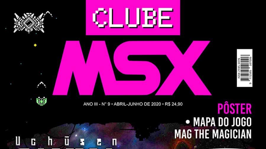 Clube MSX #9 | Revista Clube MSX