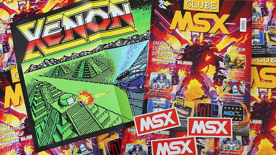 Começaram os envios da Clube MSX #8 | REVISTA CLUBE MSX