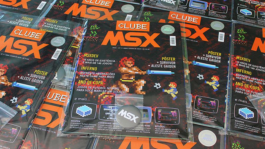 Clube MSX #1 - Edição de Colecionador | REVISTA CLUBE MSX