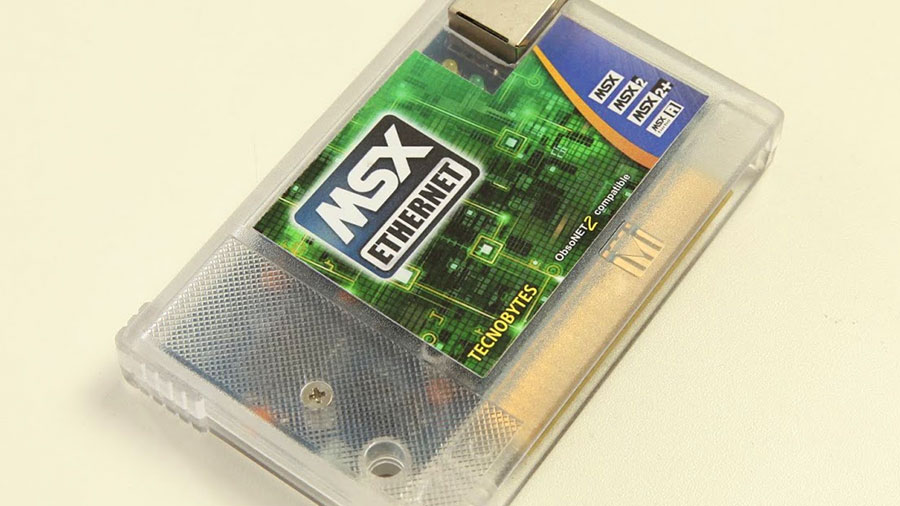 MSX Ethernet | Revista Clube MSX