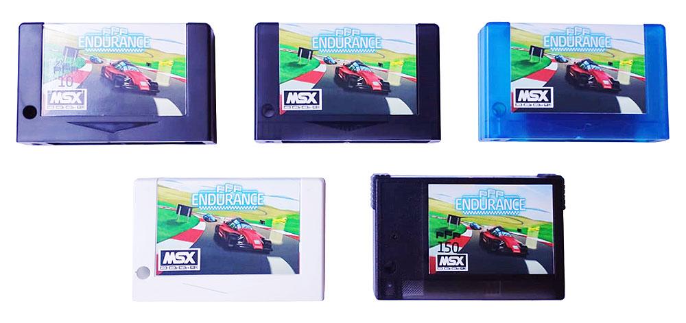 Endurance: vídeo detalha caixa, manual e cartucho do jogo | Revista Clube MSX