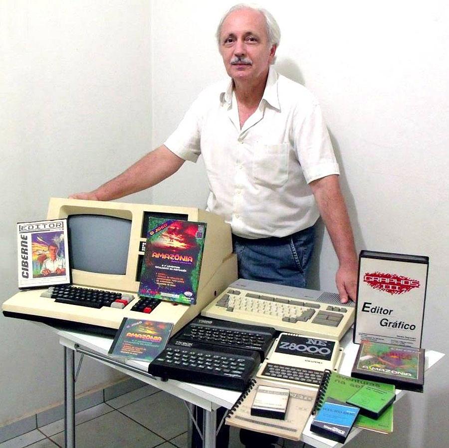 Live com Renato Degiovani: relançamento do jogo Amazônia e mais! | Revista Clube MSX