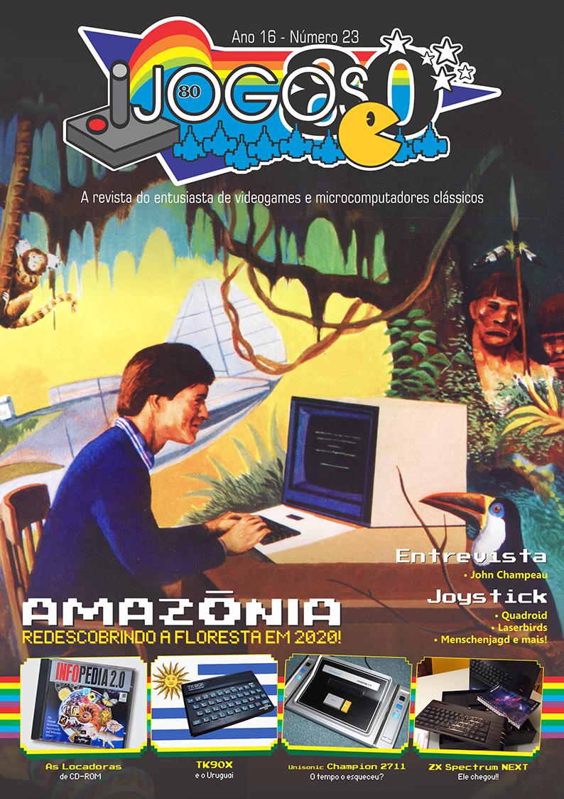 Capa da revista Jogos 80 nº 23