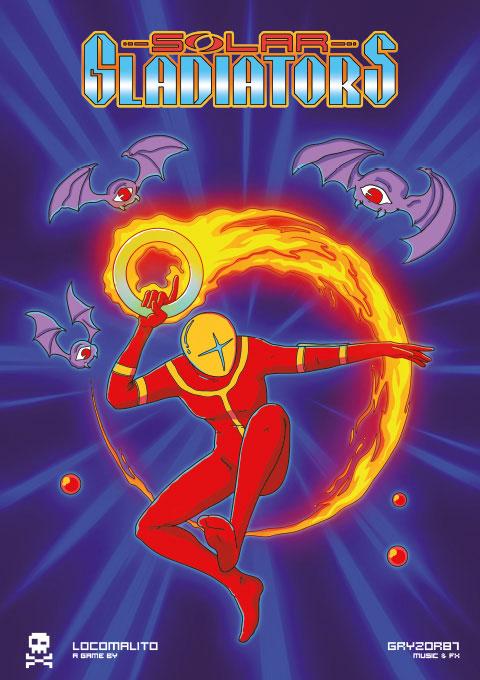 Solar Gladiators: novo jogo de PC inspirado na estética do MSX1 | Revista Clube MSX