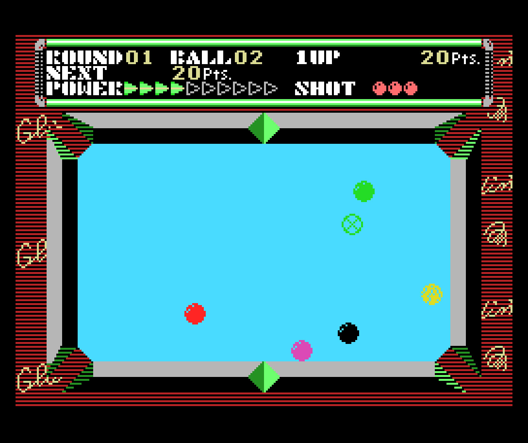 Champion Billiards: clássico título do SG-1000 é portado para o MSX