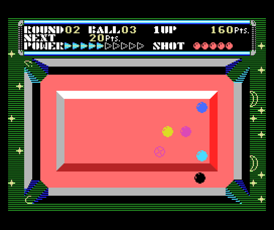 Champion Billiards: clássico título do SG-1000 é portado para o MSX