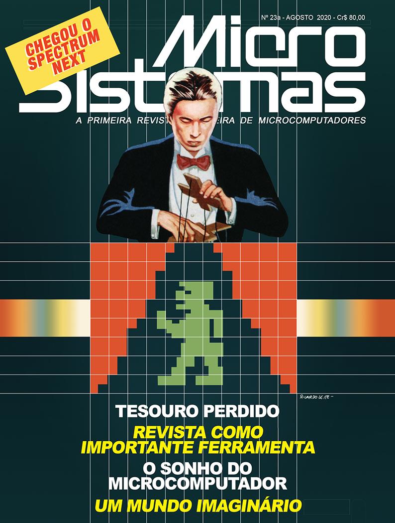 Capa da revista Micro Sistemas nº 23a