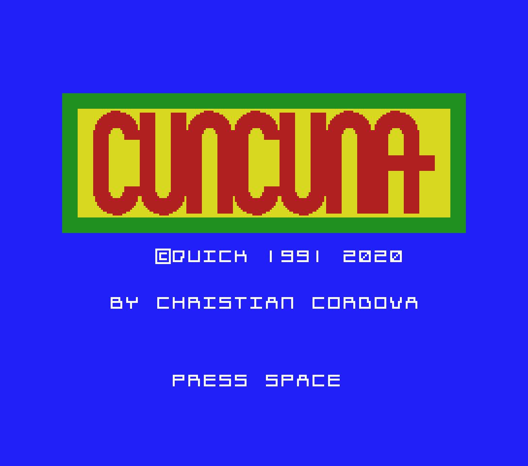 Cuncuna: nono jogo participante na MSXdev'20 | Revista Clube MSX
