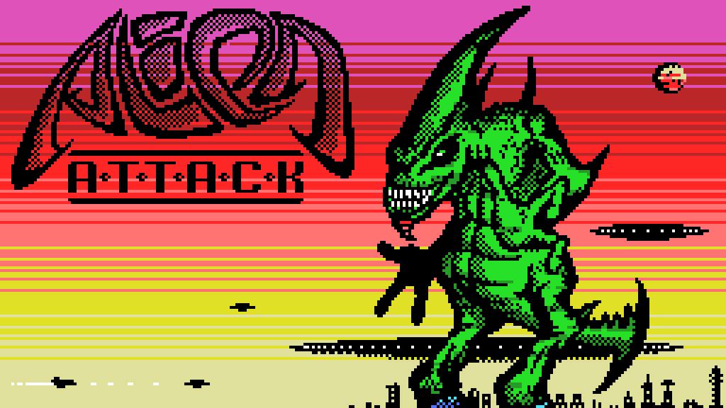 Alien Attack: liberado promo de novo shmup para MSX1