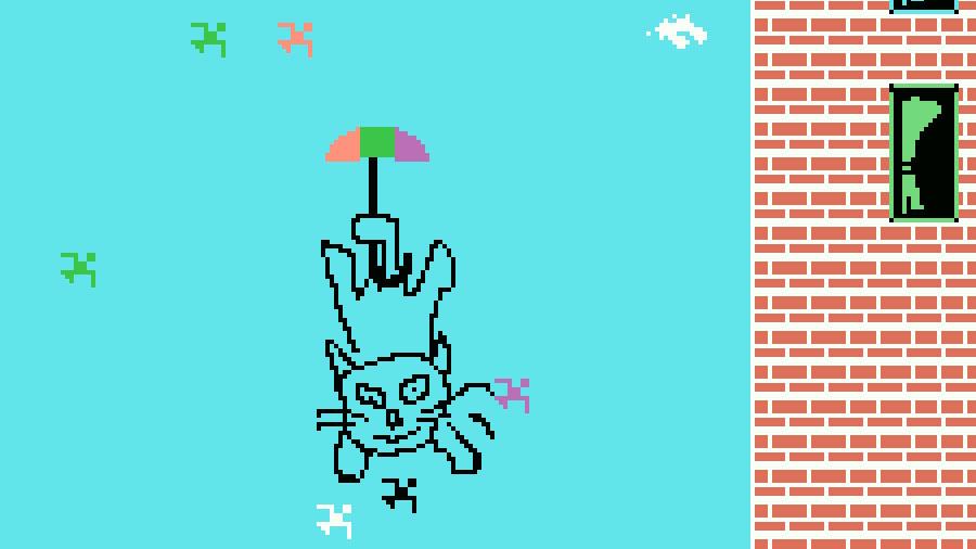 Landing: quinto jogo participante na MSXdev'20