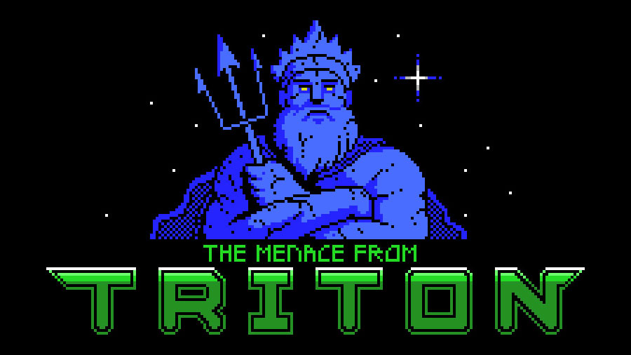 The Menace from Triton: sétimo jogo participante na MSXdev'20 | Revista Clube MSX
