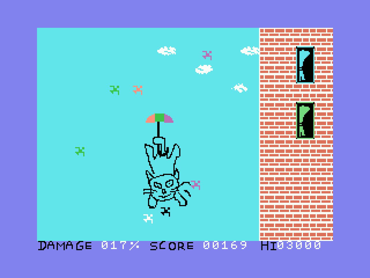 Landing: quinto jogo participante na MSXdev'20 | Revista Clube MSX
