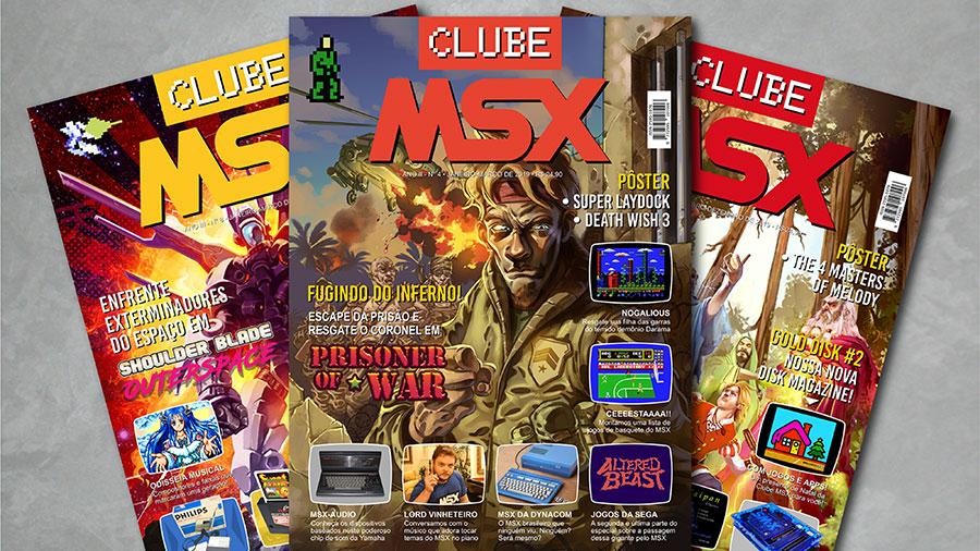 Agora você já pode assinar a revista Clube MSX