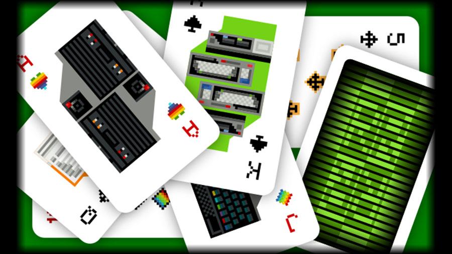 Baralho de micros e videogames clássicos do Retrocomputaria | Revista Clube MSX