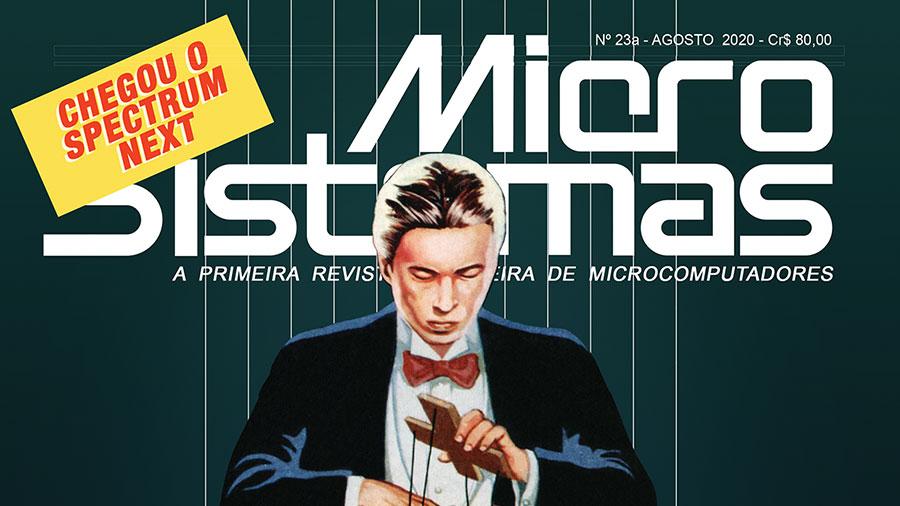 Começaram os envios da Micro Sistemas nº 23a | Revista Clube MSX