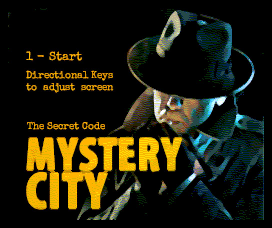 Mystery City: adventure brasileiro para MSX2 e ZX Spectrum Next | Revista Clube MSX