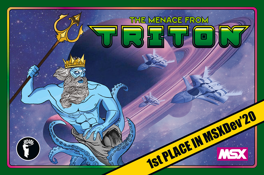 The Menace from Triton | Revista Clube MSX