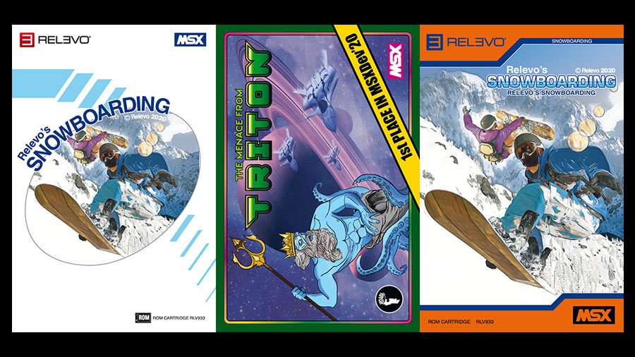 The Menace from Triton e Relevo's Snowboarding na Matranet | Revista Clube MSX