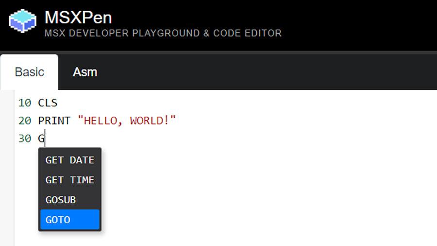 MSXPen: editor de códigos ganha novos recursos