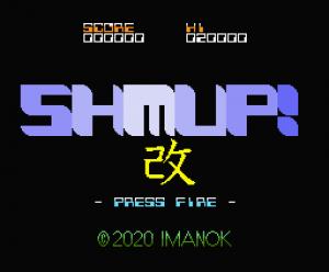 SHMUP!Kai: novo shmup para MSX1 e MSX2 é lançado | REVISTA CLUBE MSX