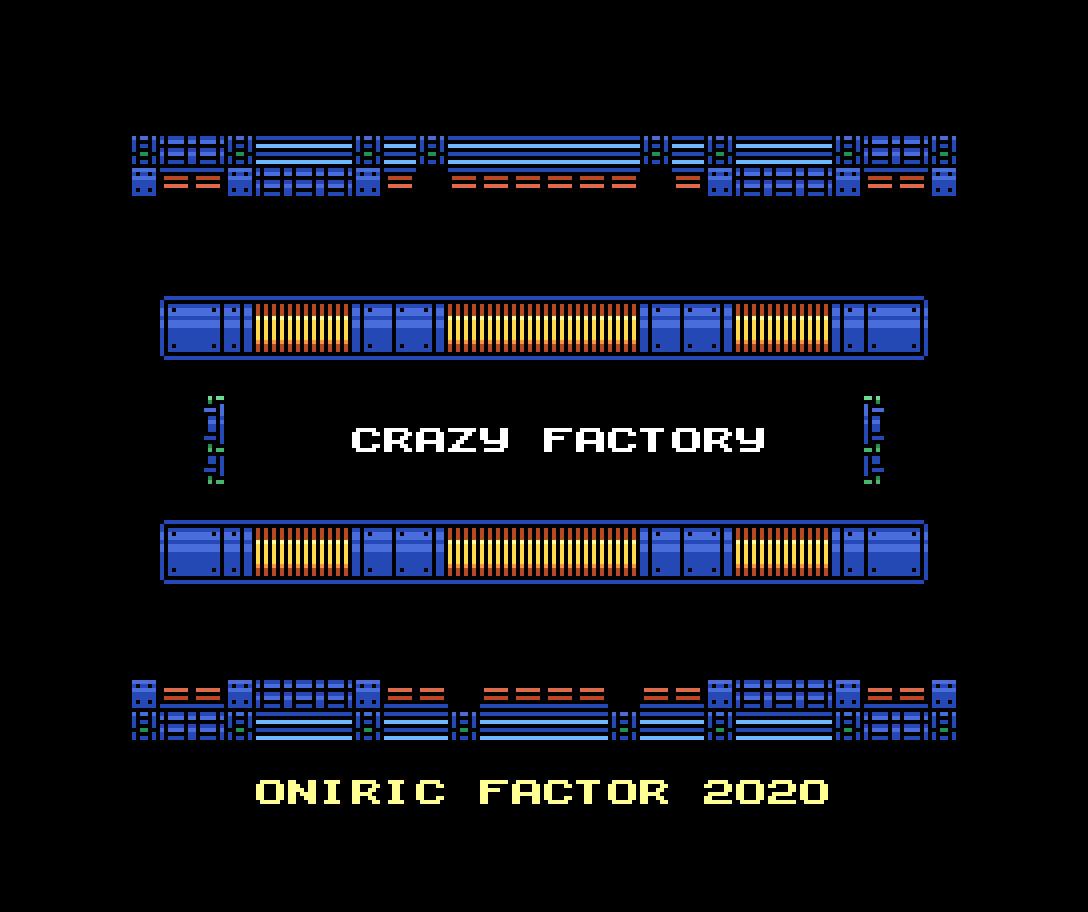 Crazy Factory: primeiras imagens do novo jogo da espanhola Oniric Factor | Revista Clube MSX