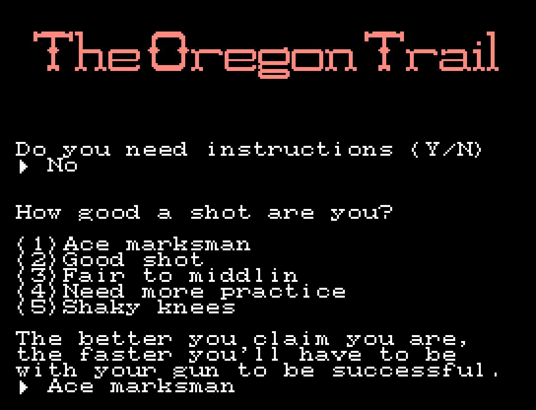The Oregon Trail: MSX ganha versão do clássico adventure | Revista Clube MSX