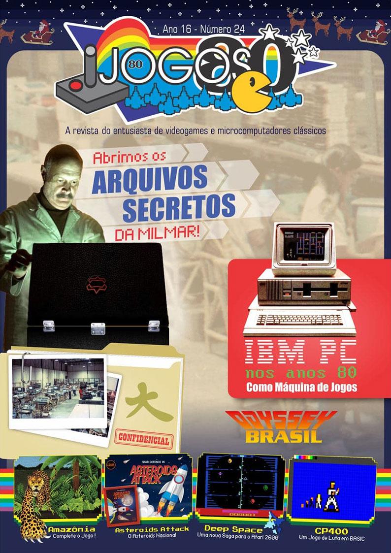 Capa da revista Jogos 80 nº 24