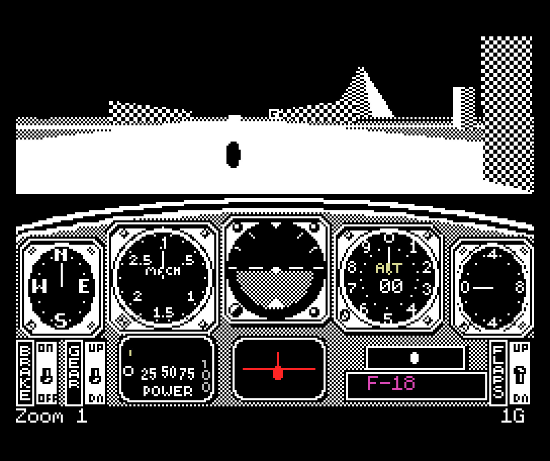 Chuck Yeager's Advanced Flight Trainer (MSX) | Revista Clube MSX