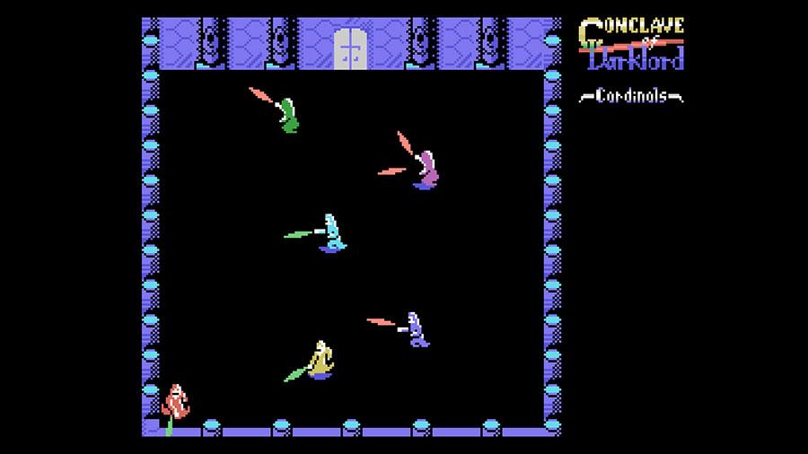 Conclave of Darklord: vídeo mostra um pouco de novo jogo multiplayer para o MSX | Revista Clube MSX