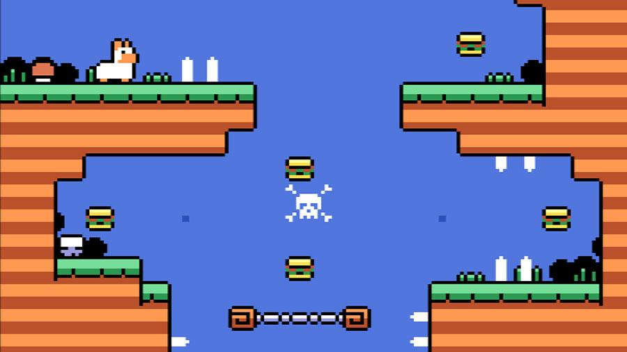 Jumping Llama: primeira imagem de novo jogo da Oniric Factor | Revista Clube MSX