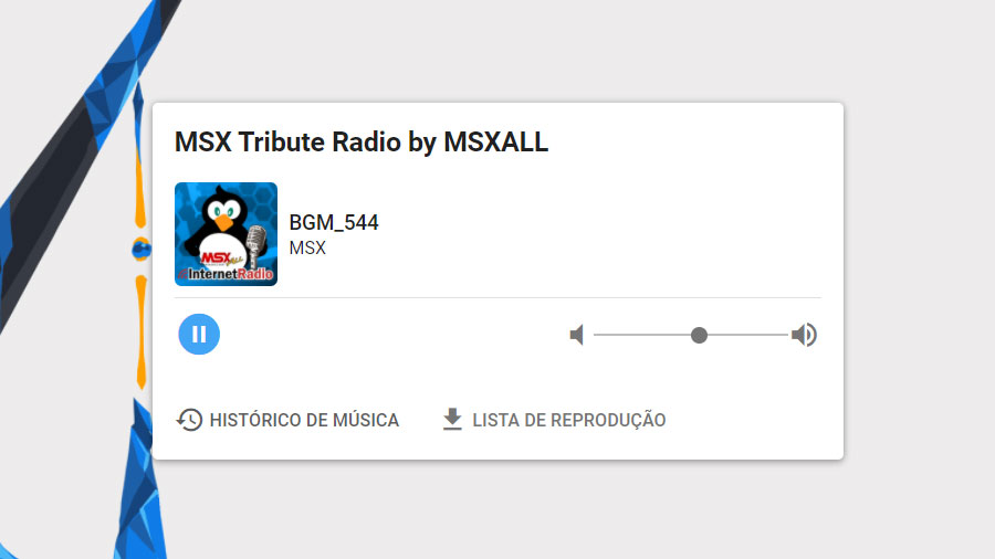 MSX Tribute Radio: nova rádio online dedicada ao MSX   Revista Clube MSX