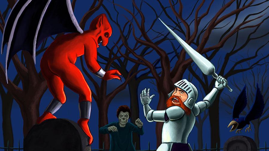 Ghosts'n Goblins (MSX) será vendido em versão digital